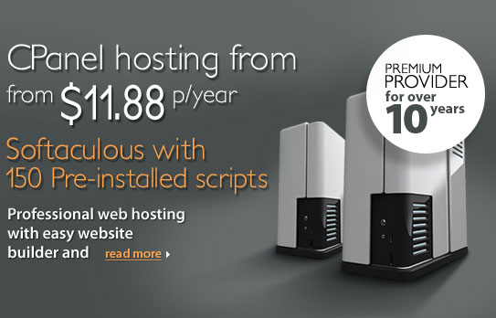 CPanel Hosting Reseller Services with optional SSD drives and FREE Softaculous, RVSkin and  RVSite Builder on Litespeed Servers from Beachcomber